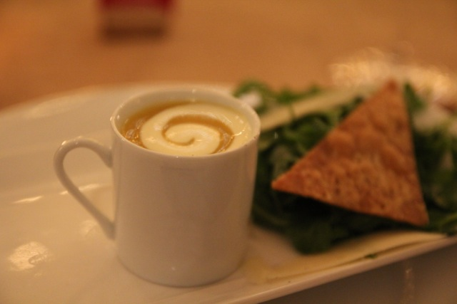 Butternut Squash Soup & Salad