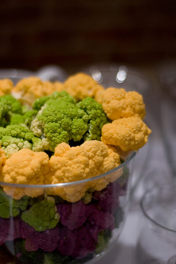 Multicolored Cauliflower from Vogue's Fashion Night Out