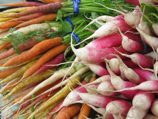 Radish & Carrots at The Ferry Building Farmers' Market