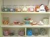 Candy Shelves at Miette