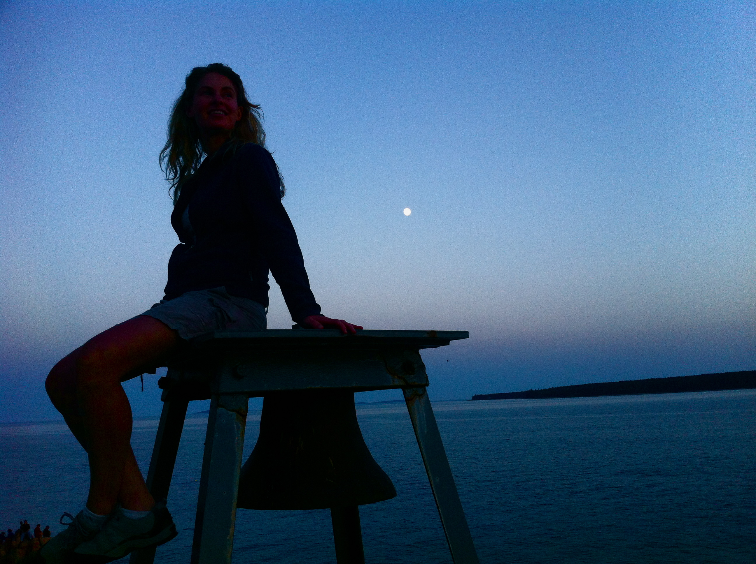 Maine, Me & the Moon