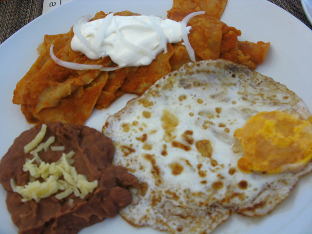 Chilaquiles = Mexican Breakfast