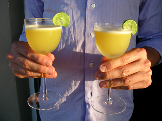 Mr. Mix's Pineapple Key Lime Margaritas