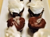 Duet of Bite-size Devil's Food Cupcakes